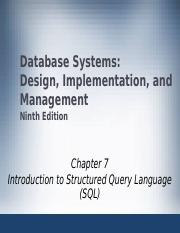 Ch04 Pptx Database Systems Design Implementation And Management Ninth Edition Chapter 4 Entity Relationship Er Modeling 1 Objectives U2022 In This Course Hero