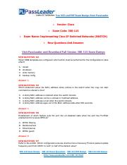 [Jan] New 300-115 Exam Dumps with PDF and VCE Download.pdf