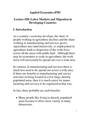 Migration Effects Notes