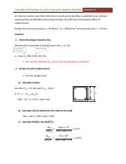 Example 3.9 - Design of short column subjected to uniaxial bending.pdf