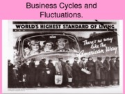 Business Cycles and Fluctuations (Presentation)