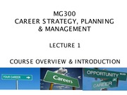 01 - COURSE OVERVIEW & INTRODUCTION