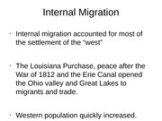Lecture 5 - Internal Migration