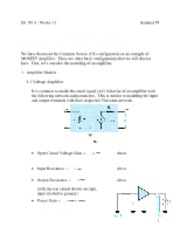 Handout_9_-_Single_Stage_MOSFET_Amplifiers