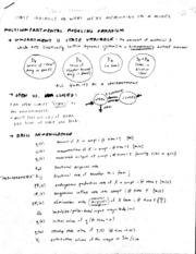 CSB186B Multicompt Modeling Notes