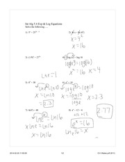 Ch 5 Solving Equations day2 Completed Notes