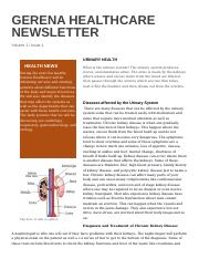 HCS214 Newsletter Week 5