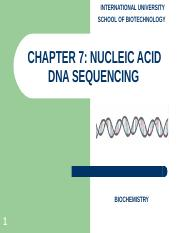 Chapter 7 Nucleic acid and DNA sequencing.ppt