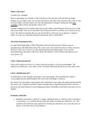 PHI2010 Notes 7 - Metaphysics