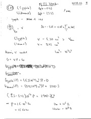 Thermal Physics Solutions CH 4-5 pg 84