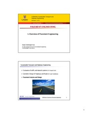 L1_Overview of Pavement Design-2014