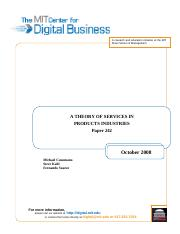 2008.10_Cusumano_Kahl_Suarez_A Theory of Services in Product Industries_242
