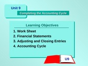 ACTBAS1 - Lesson 10      - Completing the Accounting Cycle