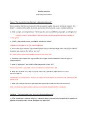 Reading questions on animal experimentation readings (2) PHIL.docx