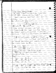 Conservative Vector Fields Notes