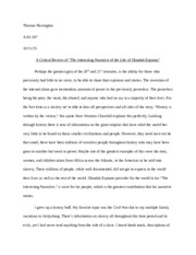 reflective essay about the life of olaudah equiano