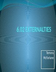 6.02 WHAT ARE EXTERNALITIES