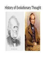 History of evolutionary thought.pptx