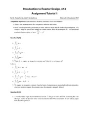 3K4-2013-Assignment-1-Solutions