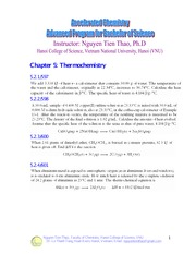 Chapter 6-Thermochemistry