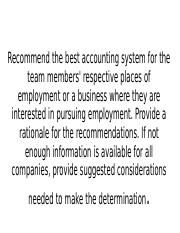 Recommend the best accounting system for the team.pptx