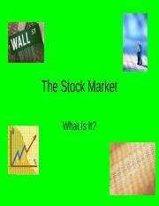 The_Stock_Market.ppt