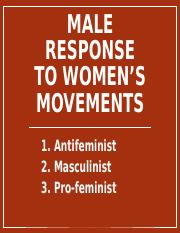 6  Male Responses to Feminism.ppt