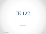 Lecture2-IE122