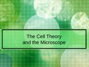 3-microsope & cell theory