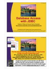 10-Accessing Databases with JDBC