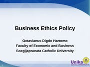 Business Ethics Policy Week3