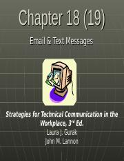 Ch 18 Email & Text Messages (1).ppt