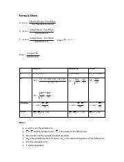 Formula Sheet & Tables GIVEN IN EXAM.pdf