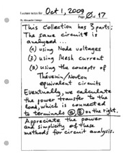 31 2009-10-01 notes