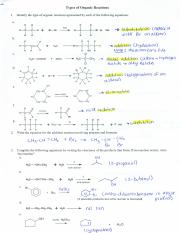 The  plete Organic Chemistry Worksheet Activities Worksheets High also Organic Chemistry Understanding Organic Reactions Worksheet for 9th likewise Unit 10 Organic Chemistry further Chemistry 11 Answer Key as well Organic Reactions Worksheet likewise Solved  Basic Concept Reaction Worksheet 5 1  a  Nucleophi moreover 2 4 Chemical Reactions Worksheet Answers   Lostranquillos further OC06   Organic Reactions 1   Worksheet   ANSWERS docx   SCH4U1 OC05 besides Download By Balancing Equations Grade 9 Chemical Worksheet Answers besides Solved  4u  Organic Reactions And Properties Worksheet Low also  besides Organic Chemistry Worksheet with Answers   Semesprit Worksheet likewise Percent Yield Worksheets With Answers Chemistry Worksheet For High also Organic Reactions Worksheet   Name Organic Reactions Worksheet For also plete organic chemistry worksheet answers likewise 27 1  Organic Reactions  An Introduction   Chemistry LibreTexts. on organic reactions worksheet with answers