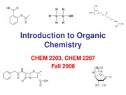 1 2008 Lecture 1 Introduction_to_Organic_Chemistry