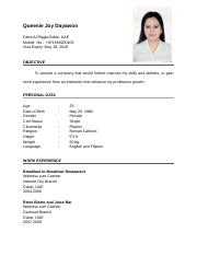 Queenie Resume.doc