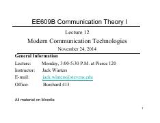 Lecture12_ModernTechnologies-EE609B-2014F-lecture