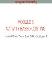 Module 5 - Activity based costing.pptx