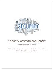 Security Assessment.docx