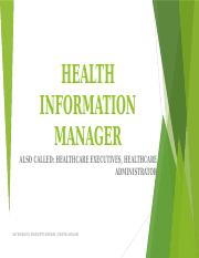 HEALTH INFORMATION MANAGER PROJECT.pptx