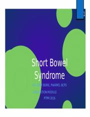 17 Short Bowel Syndrome Boire.pptx