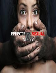 sexual abuse - effects and conclusion.pptx