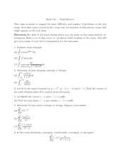 Practice Exam (I) with answers