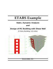 ETABS-Example-RC-Building-With-Shear-Wall pdf - ETABS