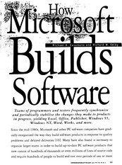 Lec4-how microsoft builds software
