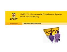 CVEN1701 - Unit 7 - Decision Making.pdf