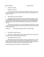research method discipline game assignment