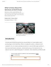 Russia What to Know About the Sanctions on North Korea _ Council on Foreign Relations.pdf