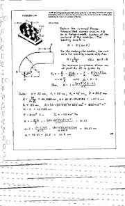449_Mechanics Homework Mechanics of Materials Solution